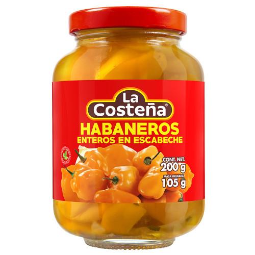 La Costena Habanero Whole 12 x 200g Case