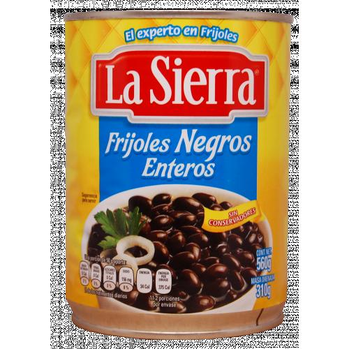 La Sierra Black Whole Beans 12x560g Case