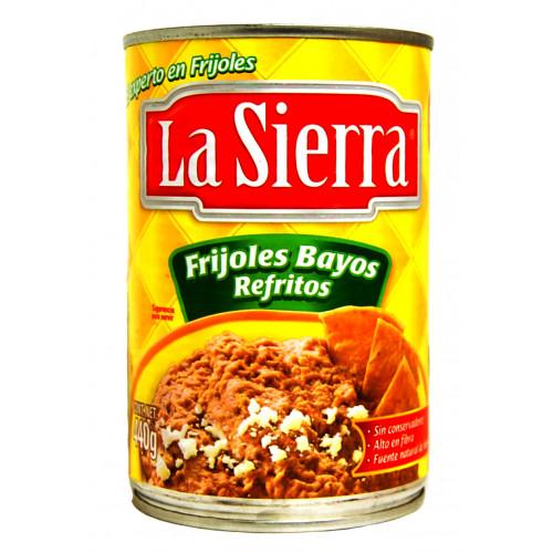 La Sierra Beans Bayos Refried  580 g