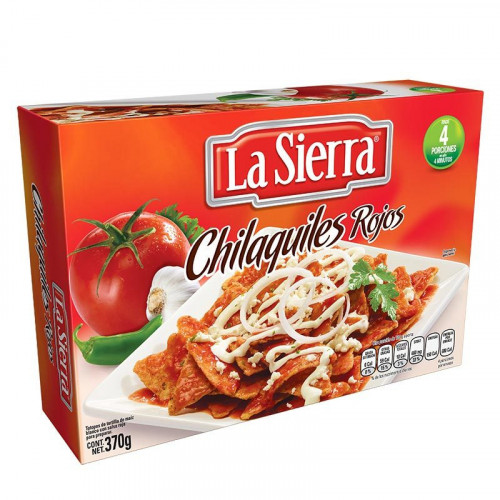 La Sierra Red Chilaquiles 12 x 370g