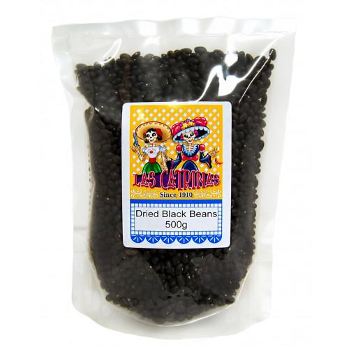 Las Catrinas Black Beans Dried 500g