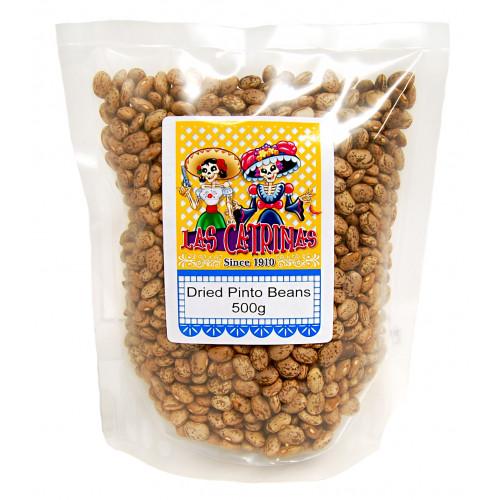 Las Catrinas Pinto Dried Beans 500g