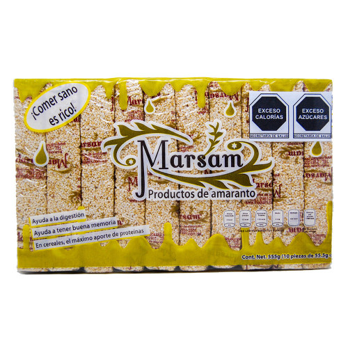 Marsam Amaranth & Almond Bar 10 x 55g