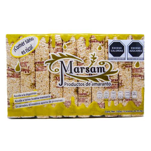 Marsam Amaranth & Almond Bar 10 x 55g