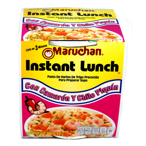 Maruchan Shrimp with Piquin Chilli 12x64g Case