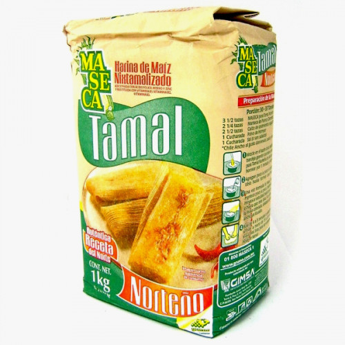Maseca Tamales 10 x 1kg Case