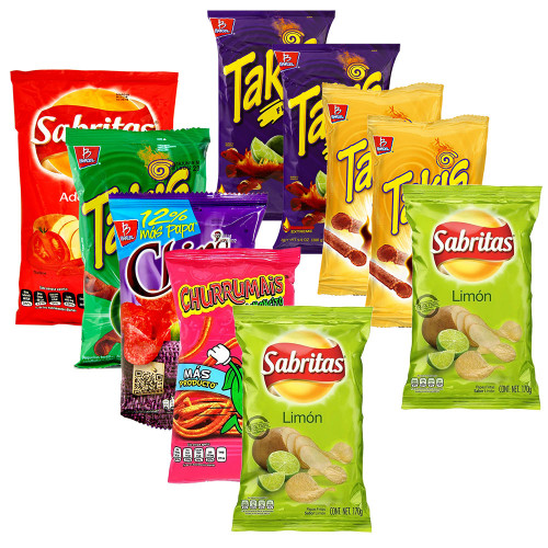 Mexican Snack Bundle 10 for £10
