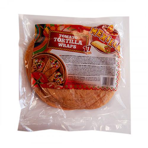 Mexilla 17cm Flour Tomato Tortilla 6x18 case
