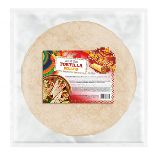 Mexilla 30cm Flour Tortilla 6 x18 case