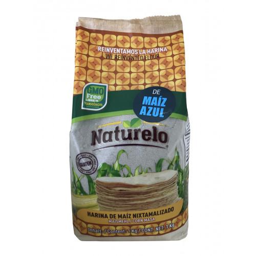 Naturelo Harina De Maiz Azul 10x1kg Case
