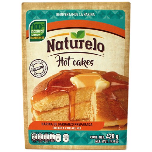 Naturelo Chickpea Hot Cake Mix 12x420g Case