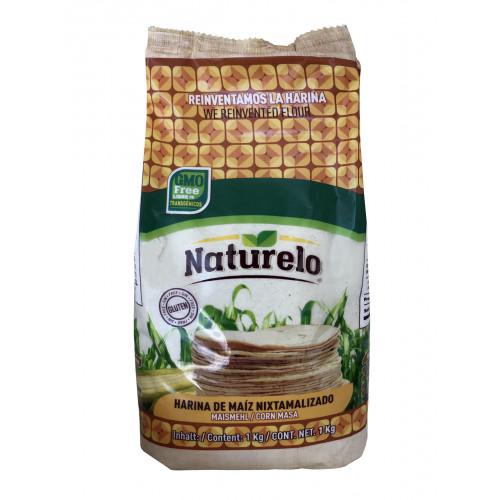 Naturelo Harina De Maiz Blanco 10 x 1kg Case