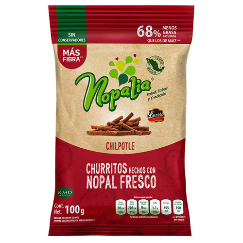 Nopalia Churritos Chipotle 100g