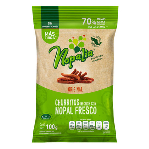 Nopalia Churritos Original 100g