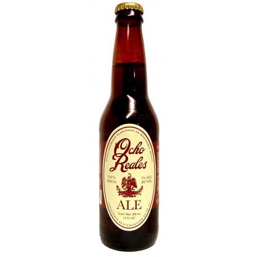 Ocho Reales Ale Beer 24x355ml Case