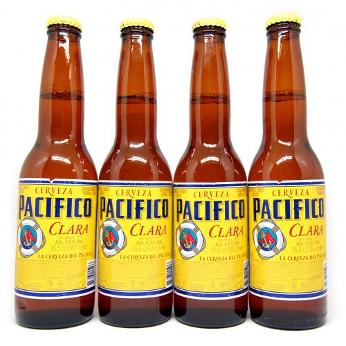 Pacifico Beer 355ml x 4 Pack
