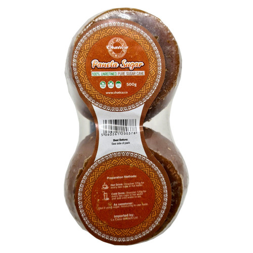 Chatica Small Panela Sugar Cane 500g