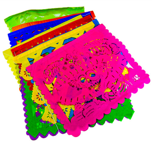 Papel Picado Day of the Dead