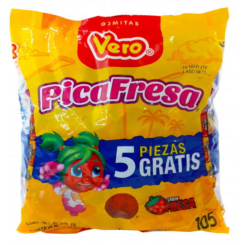Vero Picafresas 100 x 6g Bag