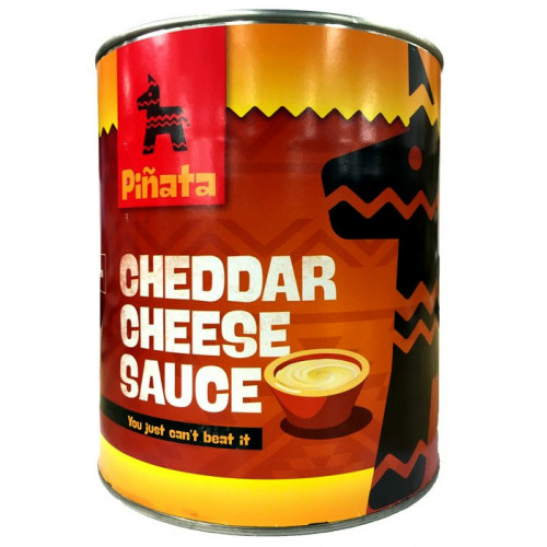 Pinata Cheddar Cheese Sauce 3kg