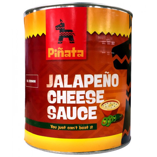 Pinata Cheddar Cheese Sauce with Jalapeno 3kg