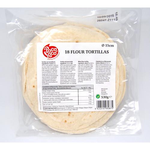 "6"" Flour Tortilla"