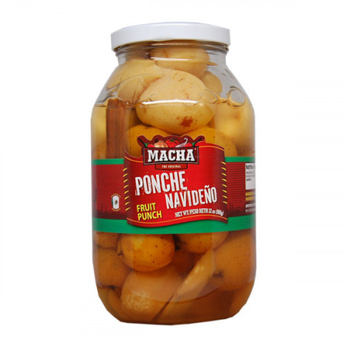 Macha Christmas Fruit Ponche Drink 12x908g Case | Buy now at Mexgrocer.co.uk