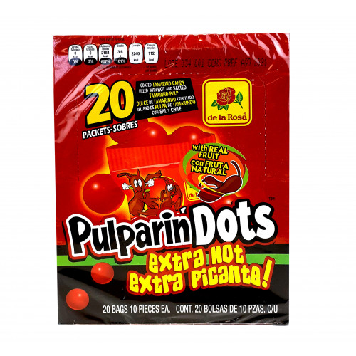 Pulparindots Extra Hot 600g