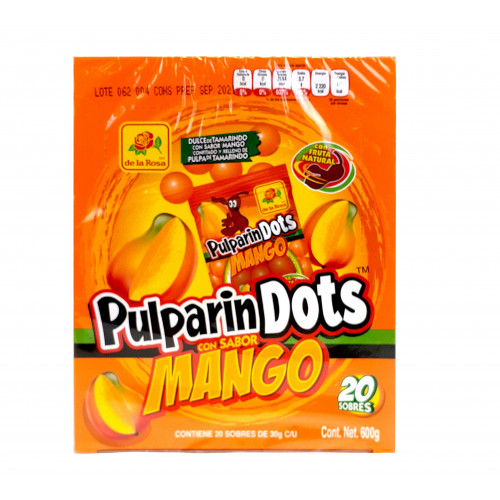 Pulparindots Mango 600g