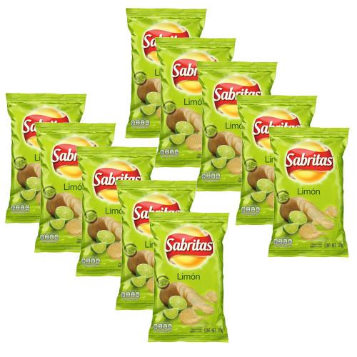 Sabritas Lime 42g 10 for £10