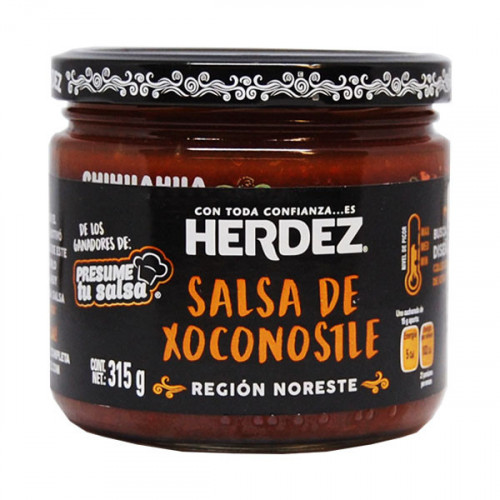 Herdez Hot Sauce with Xoconostle 315g