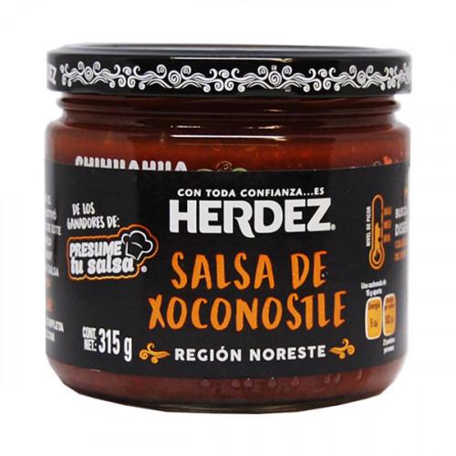 Herdez Hot Sauce with Xoconostle 6x315g Case