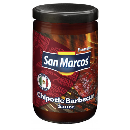 San Marcos BBQ with Chipotle 6x230g Case