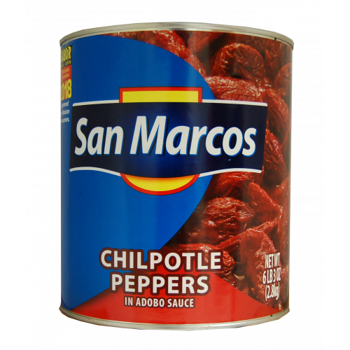 San Marcos Chipotle in Adobo 6 x 2.8kg Case