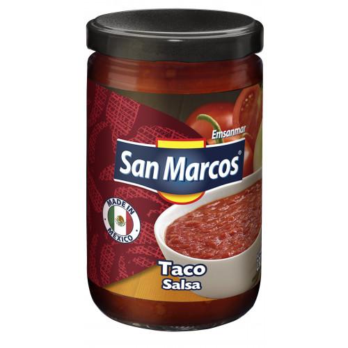 San Marcos Taco Salsa 6x230g Case