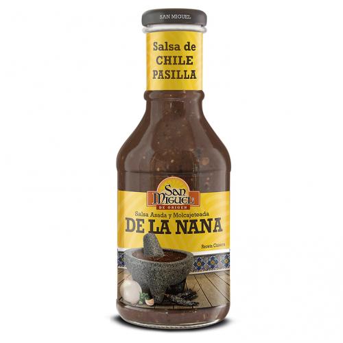 San Miguel Pasilla Sauce De La Nana 12 x 450g