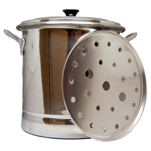 Tamal Steamer Cooking Pot Aluminium 16Lt