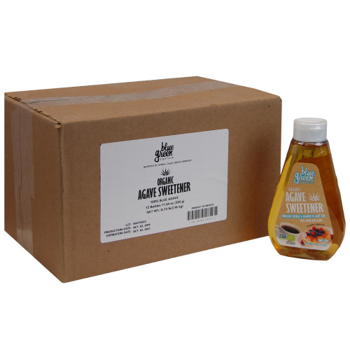 Organic Agave Syrup 12x330g Case