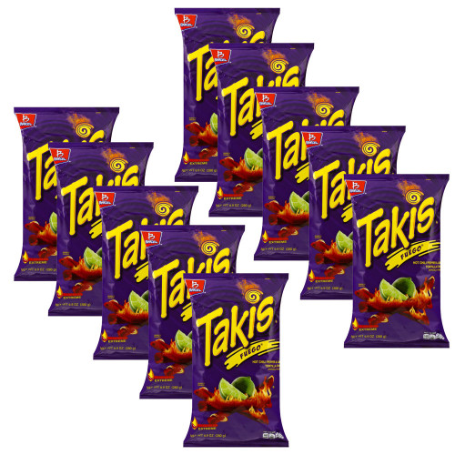 Takis Fuego 68g 10 for £10