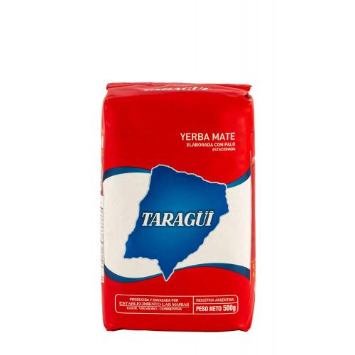 Taragui - Yerba Mate with Stems 10 x 500g Case