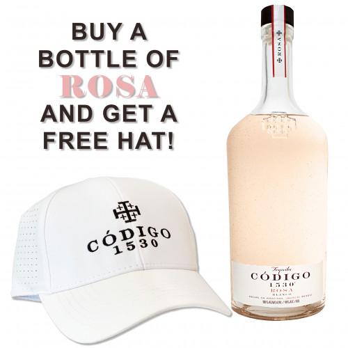 Codigo 1530 Rosa 700ml + Free Hat