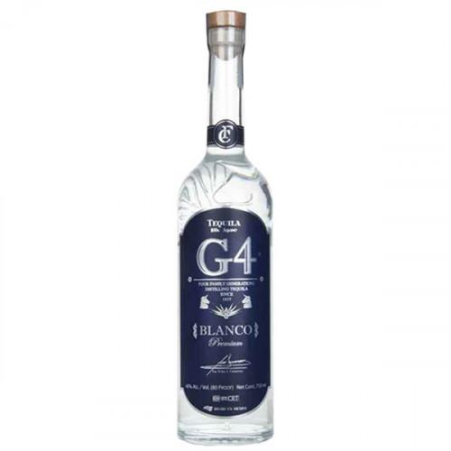 G4 Tequila Blanco 700ml 40%