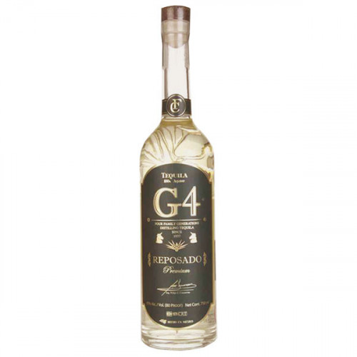 G4 Tequila Reposado 700ml 40%