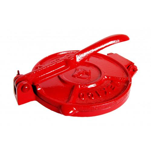 15cm Red Tortilla Press