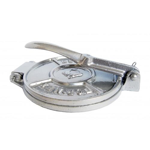 15cm Tortilla Press Silver