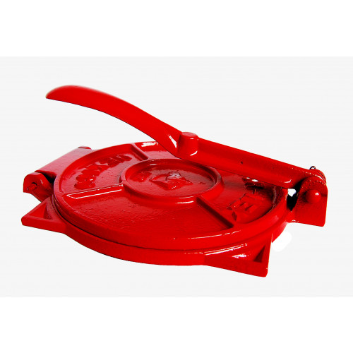 19cm Red Tortilla Press