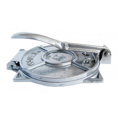 19cm Silver Tortilla Press