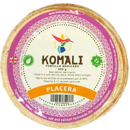 Komali Placera Tortilla 25x400g Case