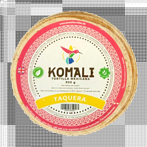 Komali Taquera Tortilla 20 x 500g Case