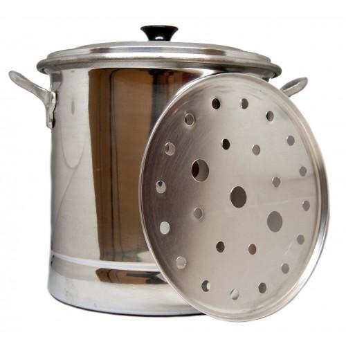Tamalera (tamale steamer) 5lt + Free 2 x Naturelo 1kg
